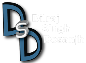 Dilraj Dosanjh's website home logo